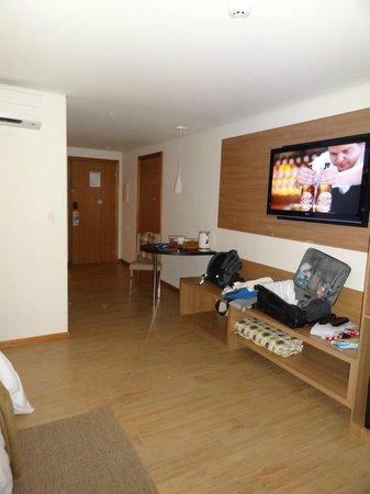 Radisson Hotel Maiorana Belem: Quarto espaçoso