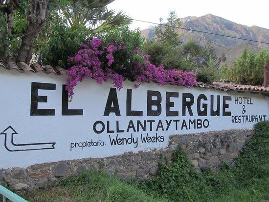 El Albergue Ollantaytambo: Arival