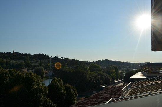 FH Grand Hotel Mediterraneo: Vista da varanda do quarto