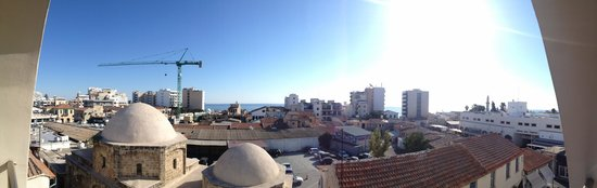 Livadhiotis City Hotel: view from the room