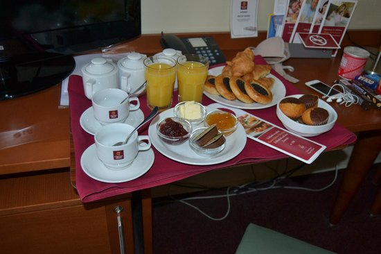 Clarion Hotel Prague Old Town: colazione in camera