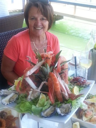 Seafood Platter for my 60th Birthday