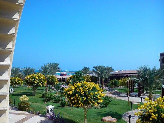 SENTIDO Mamlouk Palace Resort : البحر من الغرفة