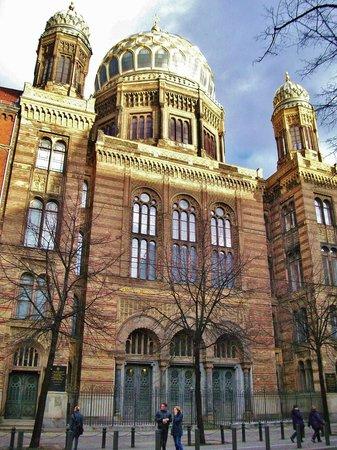 Nouvelle Synagogue de Berlin (Neue Synagoge Berlin - Centrum Judaicum) : Neue Synagoge