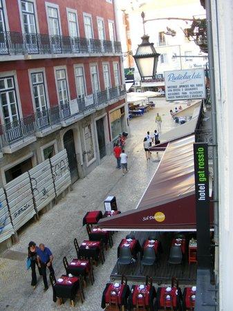 Hotel Gat Rossio: Vista