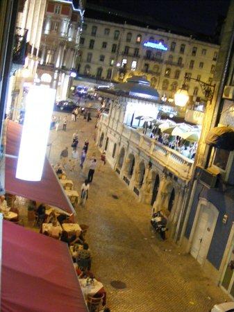Hotel Gat Rossio: Vista noturna