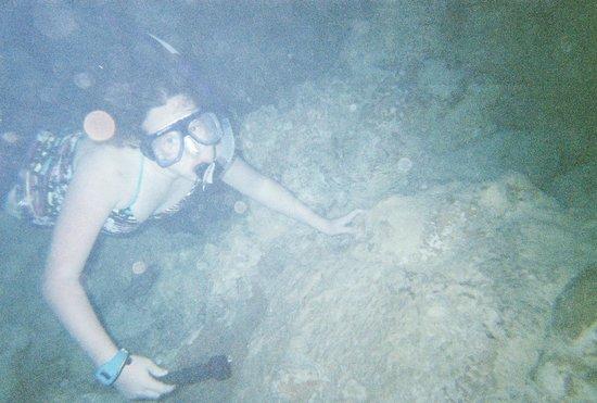 Flow: snorkeling in wet cave
