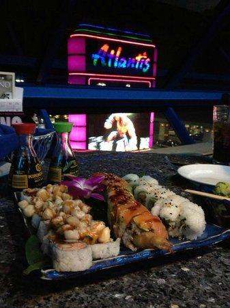 Atlantis Casino Resort Spa : Sushi Bar