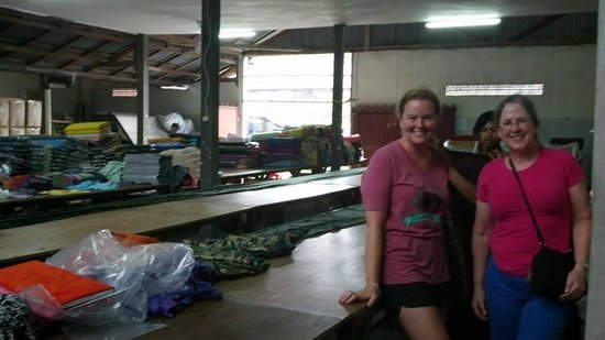Your Bali Driver (Putu Sudiana) - Day Tours: At the fabric warehouse