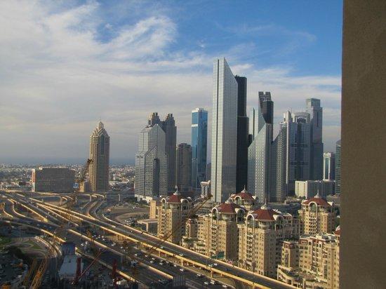 The Address Dubai Mall : Dubai Financial Center View from our room