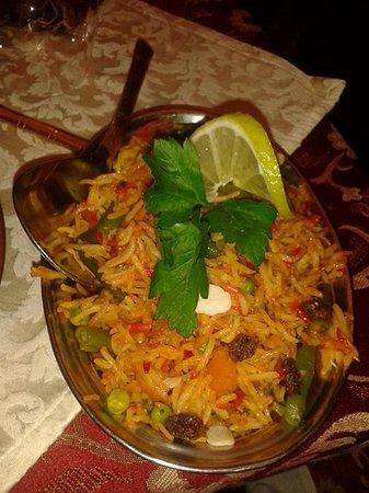Haveli Indian Restaurant: Veg Biryani
