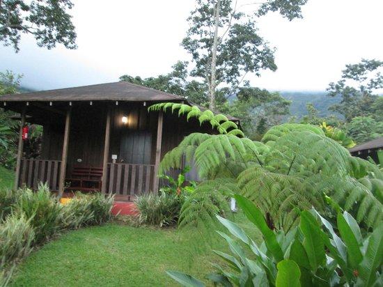 Hotel Lomas del Volcan : cabin