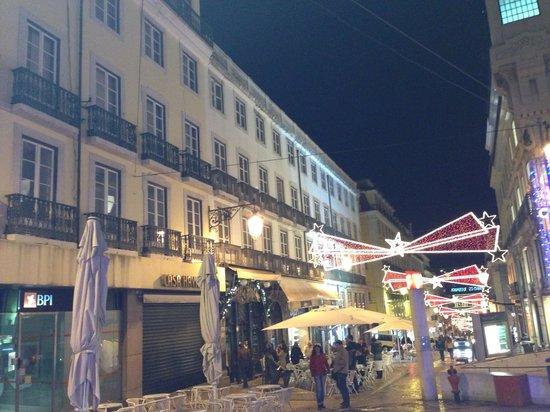 Hotel Borges Chiado : The square