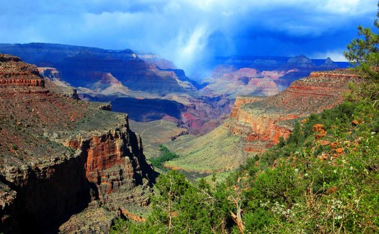Grand Canyon Strange Weather Picture Of Grand Canyon