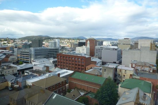 Travelodge Hotel Hobart: View to the east
