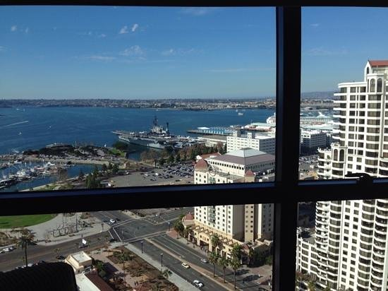 Manchester Grand Hyatt San Diego: my view from room 2768 ��