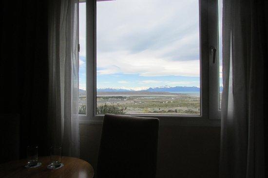 Alto Calafate Hotel Patagonico: Vista desde la habitación