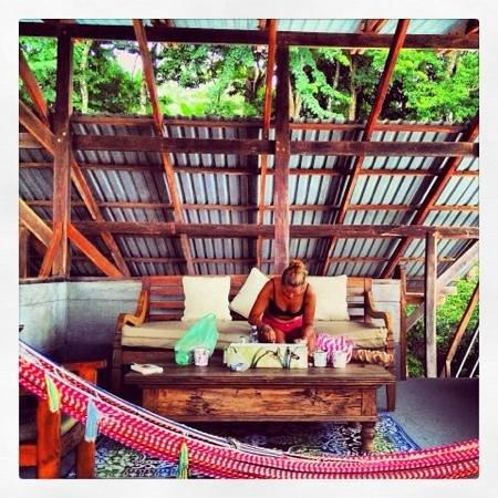 Casas de Soleil : lunch in the birds nest
