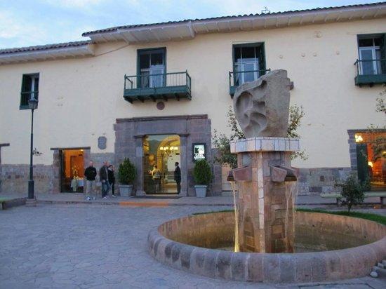Casa Andina Private Collection Cusco : front of 18th century manor-Casa Andina PC Cusco