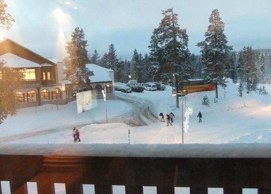 Santa's Hotel Tunturi : Room balcony view