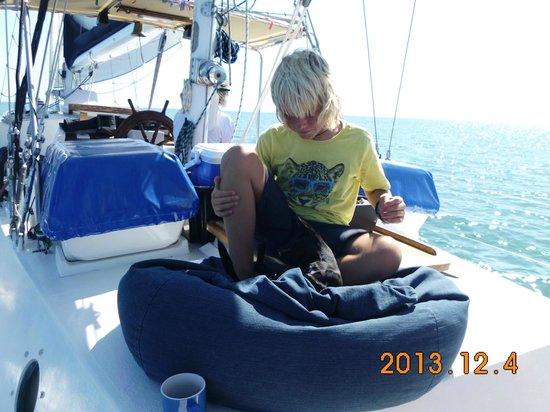Big Mama Sailing: Fletcher and Coco