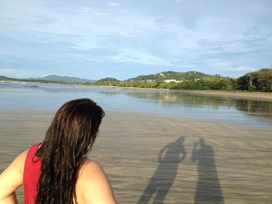 Tamarindo Bay Boutique Hotel: Beautiful Beach during Low Tide