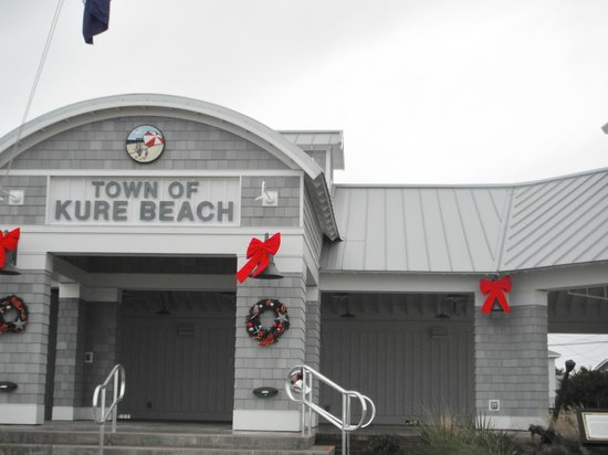 Kure Beach Pier: Kure Beach Rest Area, North Carolina, 2013