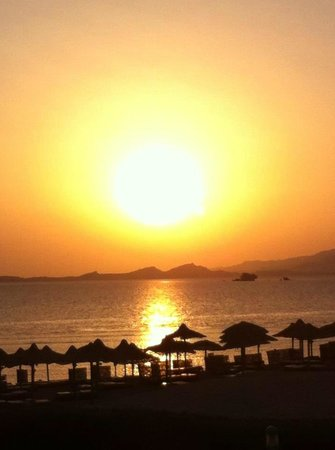 Sea Club Resort - Sharm el Sheikh: Von Zimmer 3116 Morgen früh Sonnenaufgang Ein Traum
