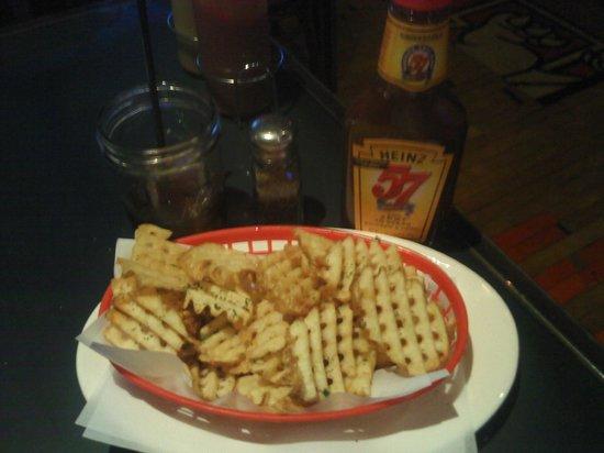 Waffle Fries at The Flatiron