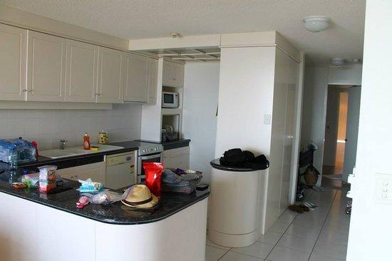 One The Esplanade: Kitchen
