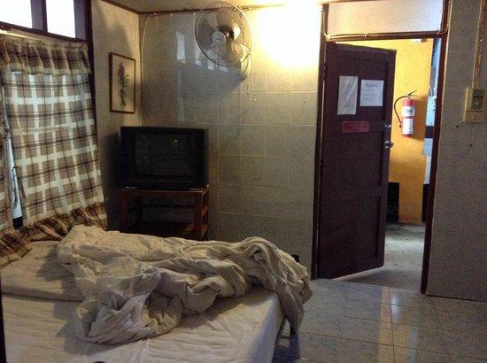 Chat Guest house: vista hacia el pasillo