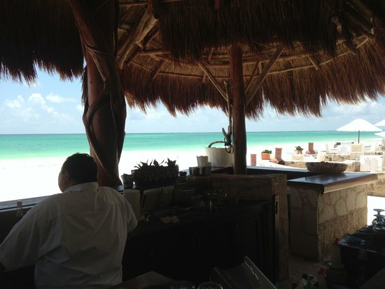 Belmond Maroma Resort & Spa: bar's view