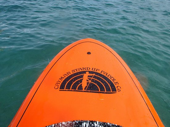 Cayman Stand Up Paddle Co: on the open sea!