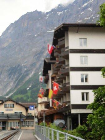 Grindelwald, Zwitserland: Hotel da região