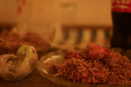 Hotel Kabli: Chicken Biryani de l'hôtel kabli