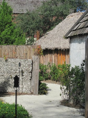 Colonial Quarter: like a colonial Disneyland