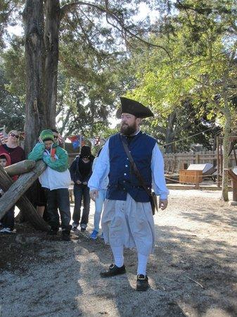 Colonial Quarter: Grimm, the fabulous tour guide