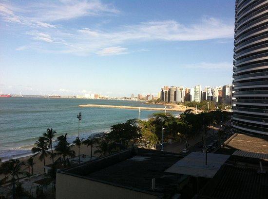 Quality Hotel Fortaleza: vista da janela do quarto.