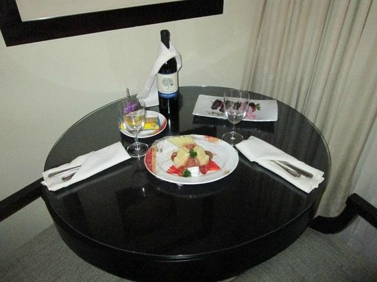 Paradisus Punta Cana : Left by Room Service!