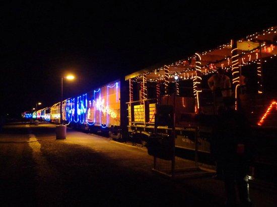 Niles Canyon Railway: The platform