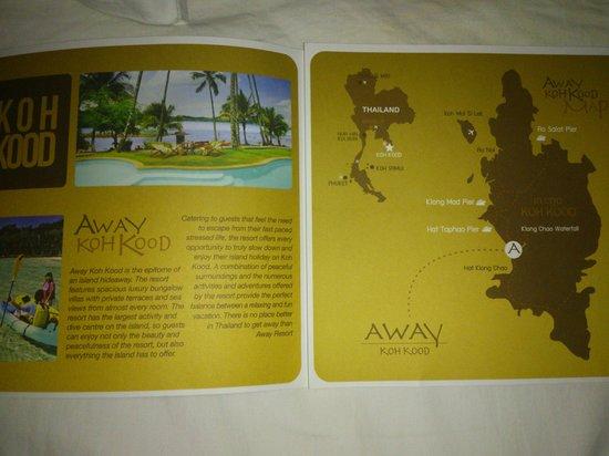 Away Koh Kood: brochure hôtel