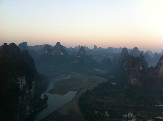 Laozhaishan Hotel: 山の頂上から