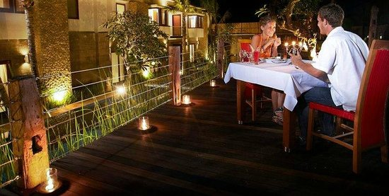 Abi Bali Resort & Villa: Romantic Dinner