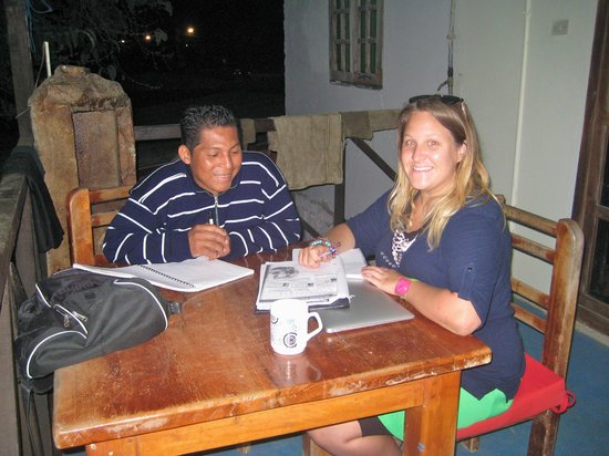 Puerto Lopez, Equador: Adult English class