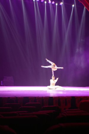 Chaoyang Theater: balancing act