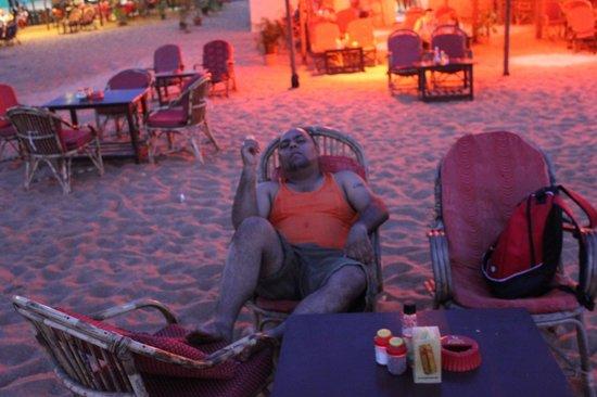 Monico's Beach Shack: Andy @ Shack