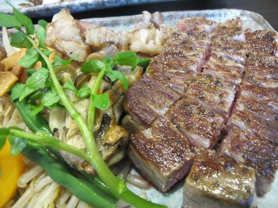 Steak House Satou : The Matsuzaka sirloin