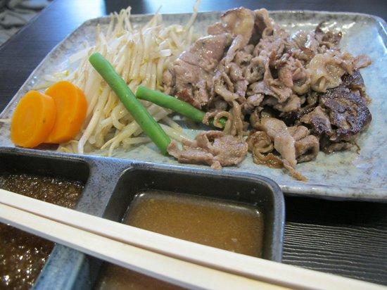 Steak House Satou : The Oil Yaki set