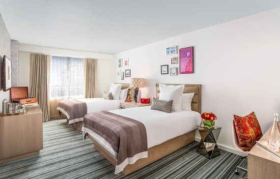 The Redbury South Beach: Queen Double Room
