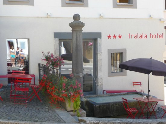Tralala Hotel Montreux: un cadre fleuri
